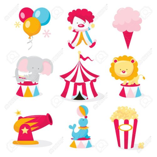 small resolution of 1024x1024 unlock circus themed pictures important clipart clip art carnival