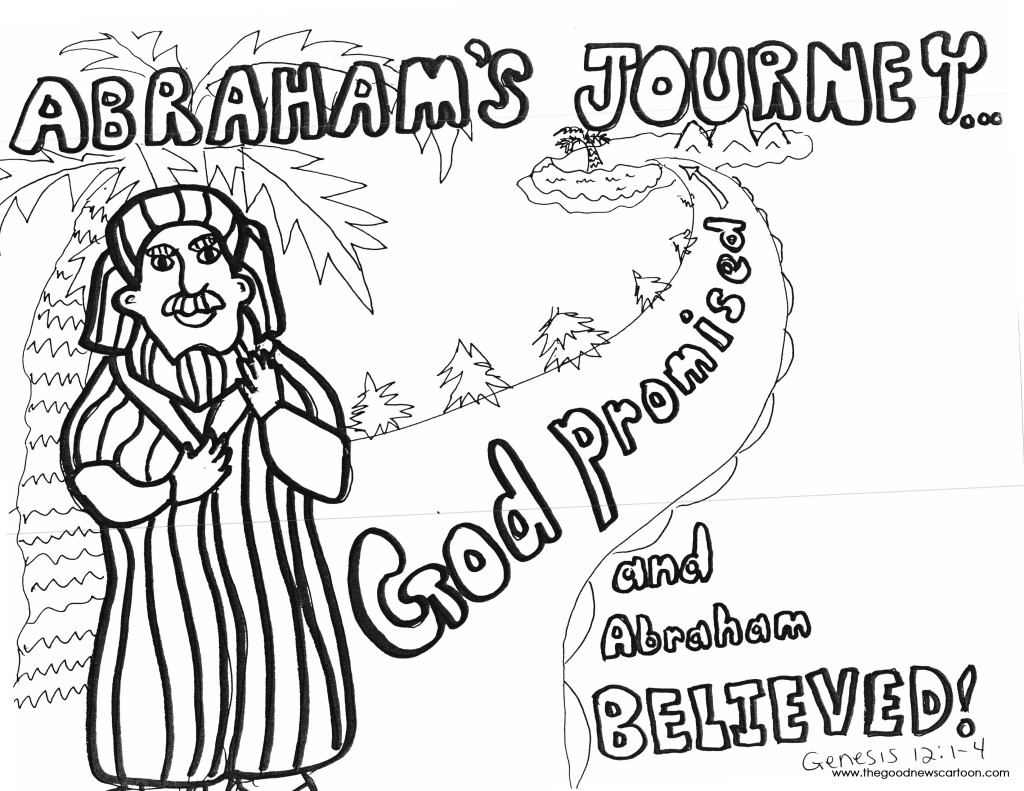 Abraham And Sarah Coloring Pages Free at GetDrawings