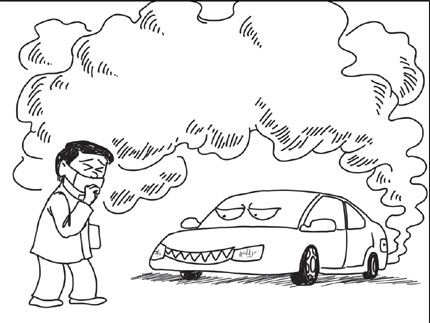 The best free Pollution coloring page images. Download