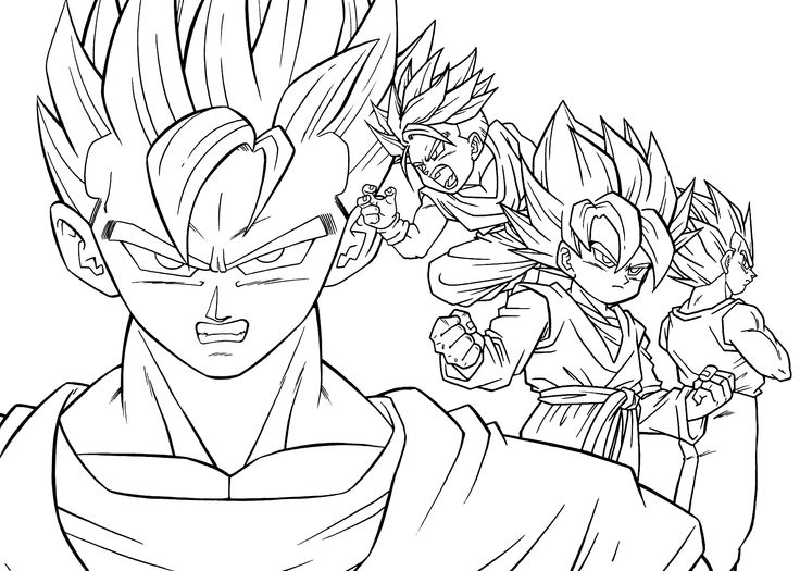 Anime Coloring Pages For Adults At Getdrawings Free Download