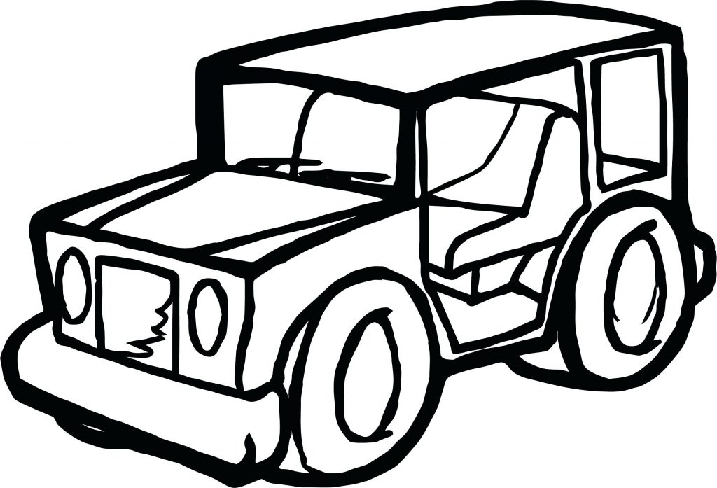 The best free Jeep coloring page images. Download from 212