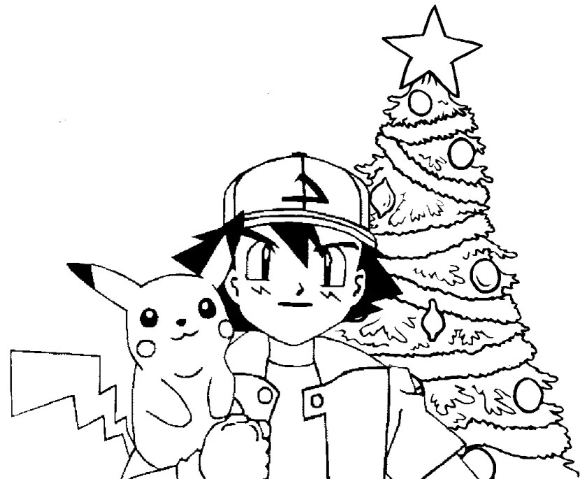 ash and pikachu coloring pages at getdrawings  free download