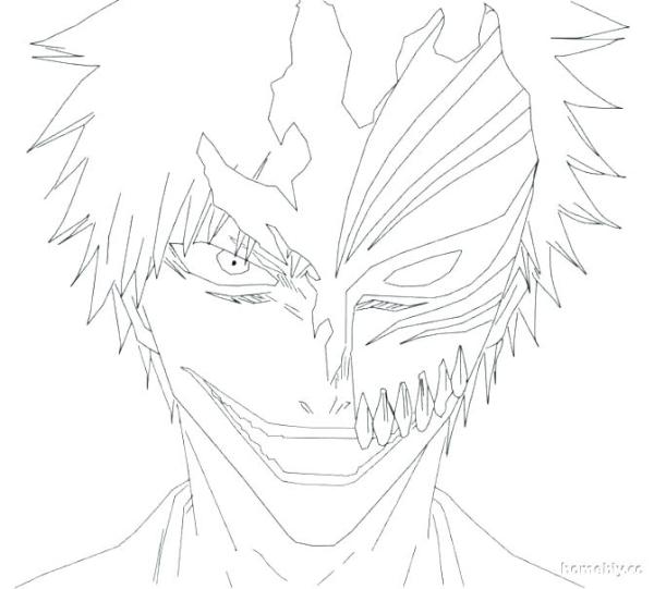 bleach coloring pages # 38