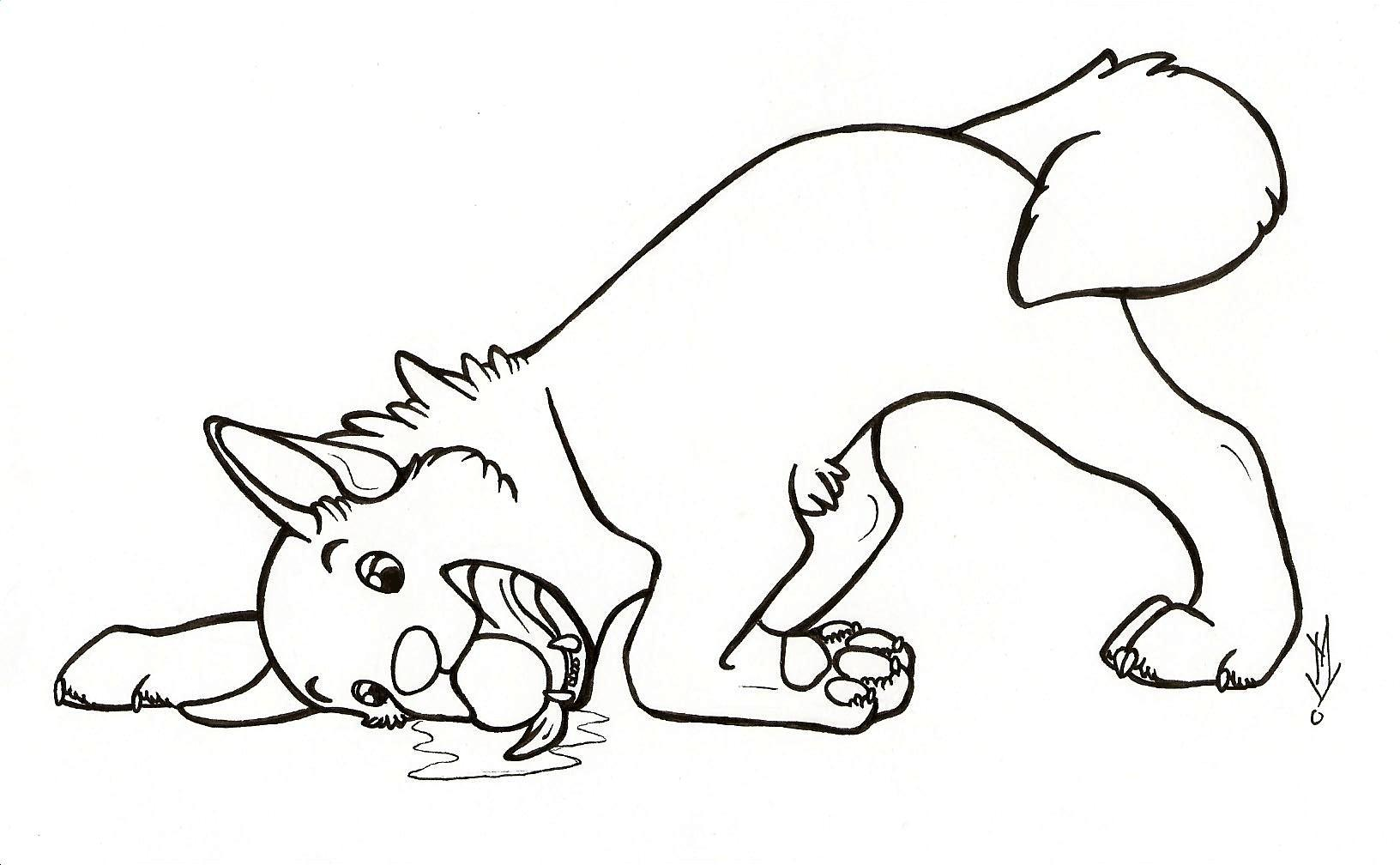 Boxer Dog Coloring Pages At Getdrawings