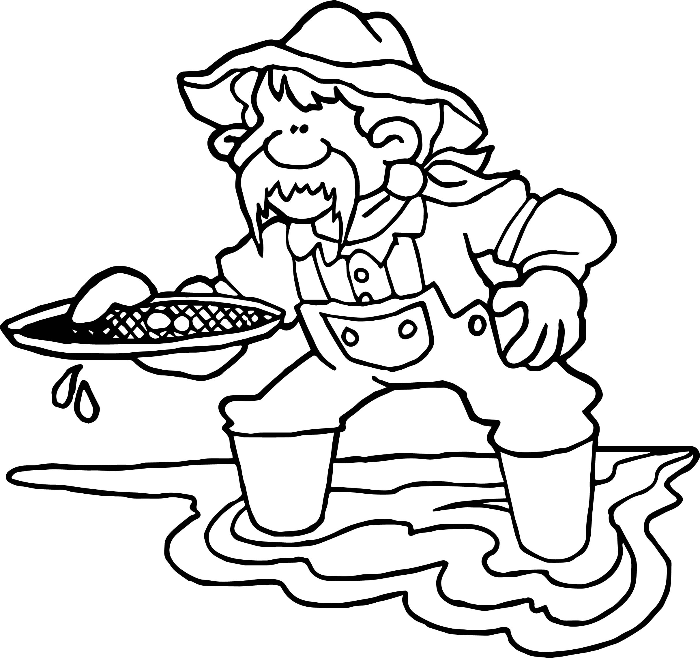 California Gold Rush Coloring Pages At Getdrawings