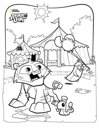 Carnival Of The Animals Coloring Pages at GetDrawings