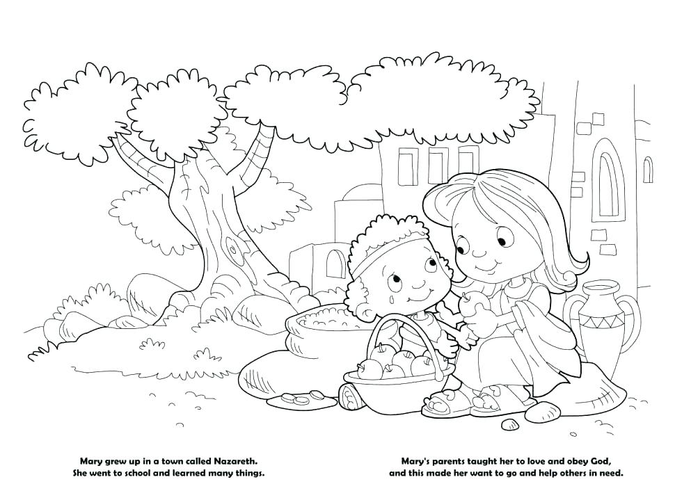 Children Obey Your Parents Coloring Page at GetDrawings