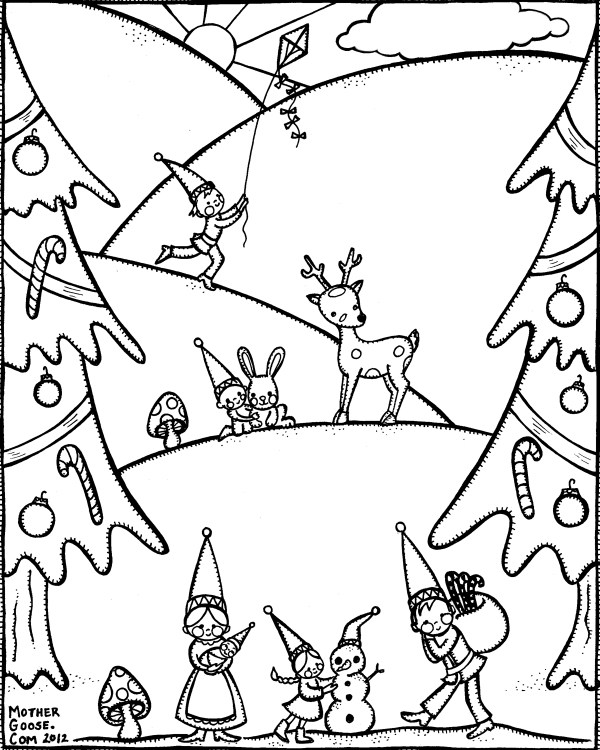free printable winter coloring pages # 30