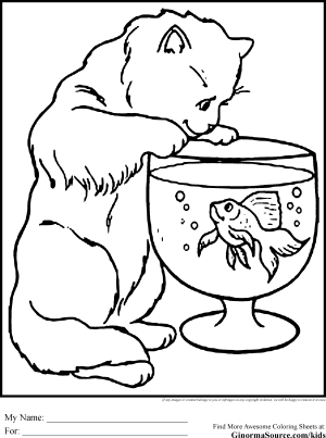 coloring elderly pages animals cat ginormasource printable getdrawings getcolorings found