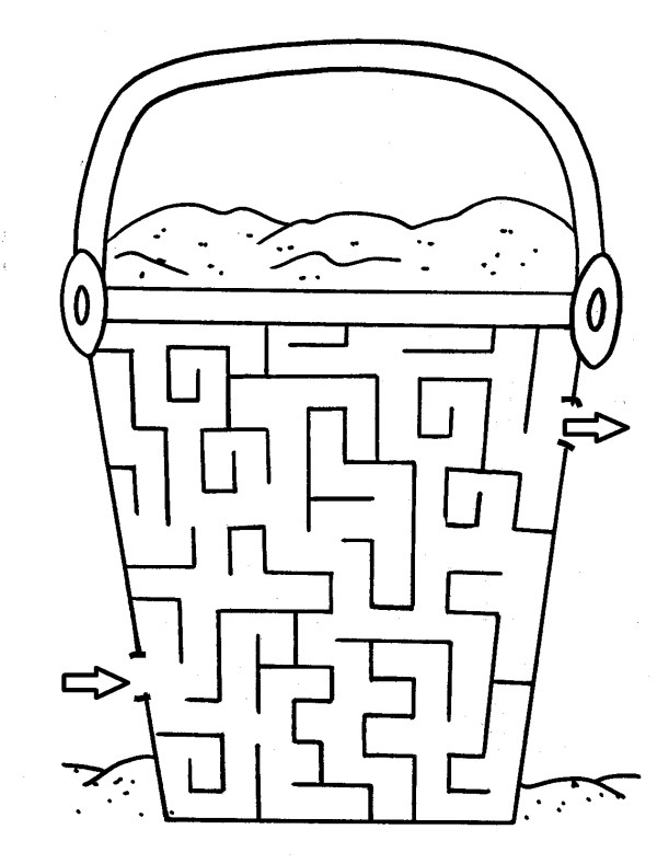 maze coloring pages # 36