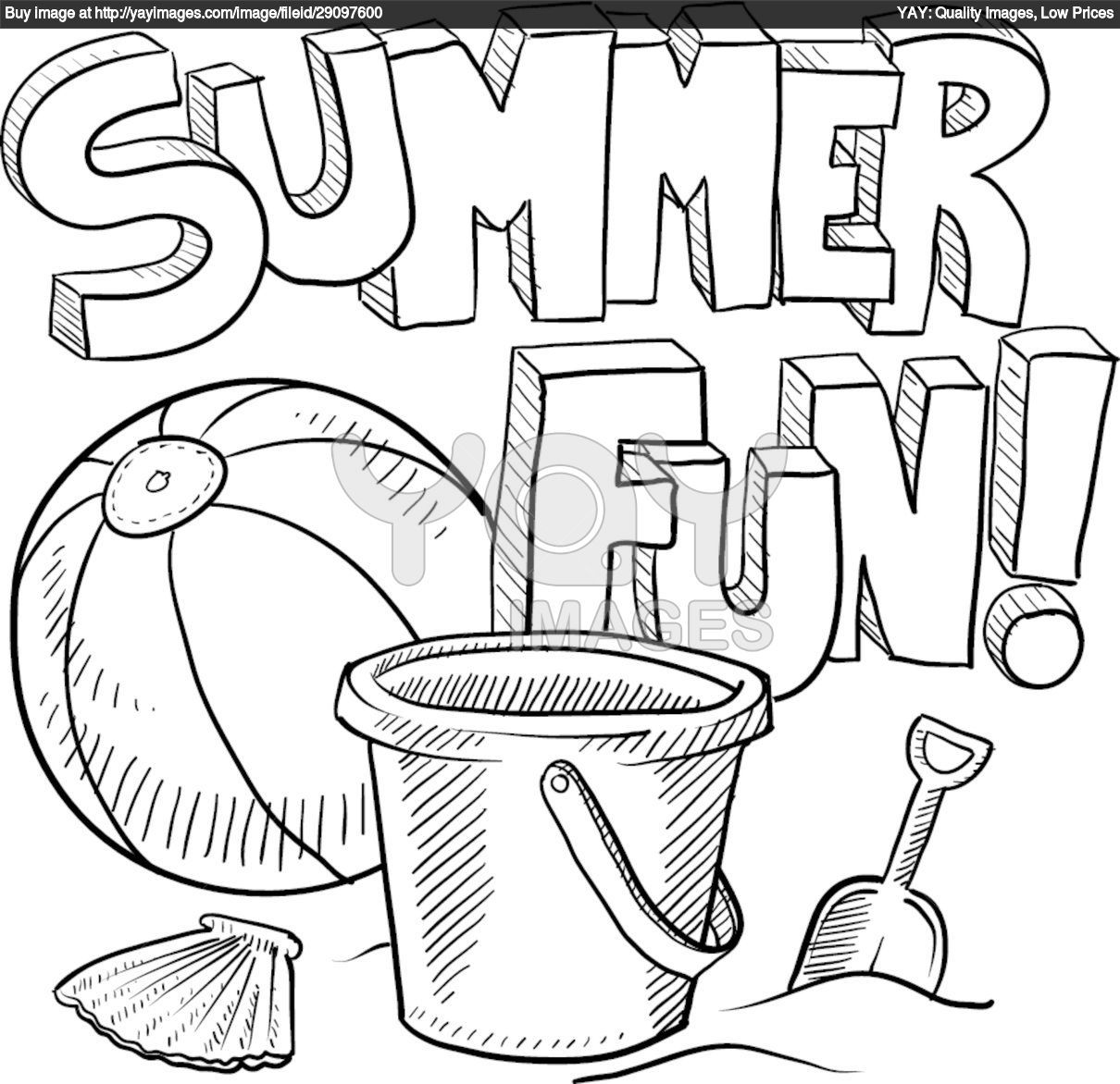 Crayola Summer Coloring Pages At Getdrawings
