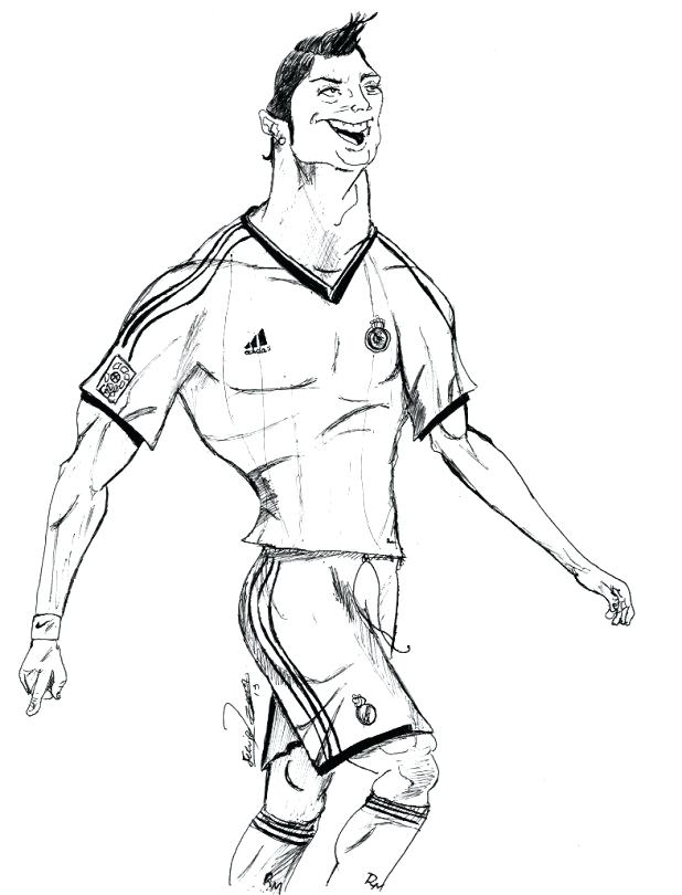 Cristiano Ronaldo Coloring Pages : cristiano, ronaldo, coloring, pages, Cristiano, Ronaldo, Coloring, Pages, GetDrawings, Download