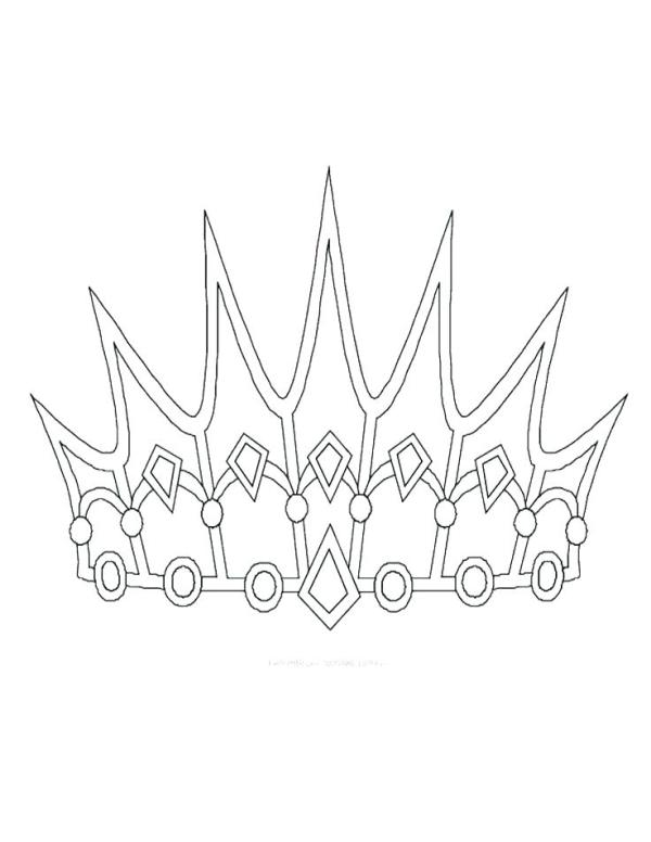 crown coloring pages # 38