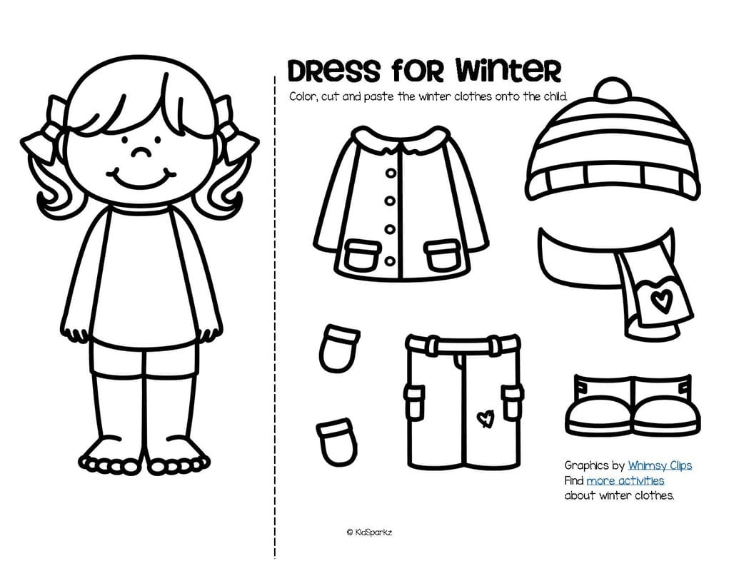 Cut And Paste Coloring Pages At Getdrawings