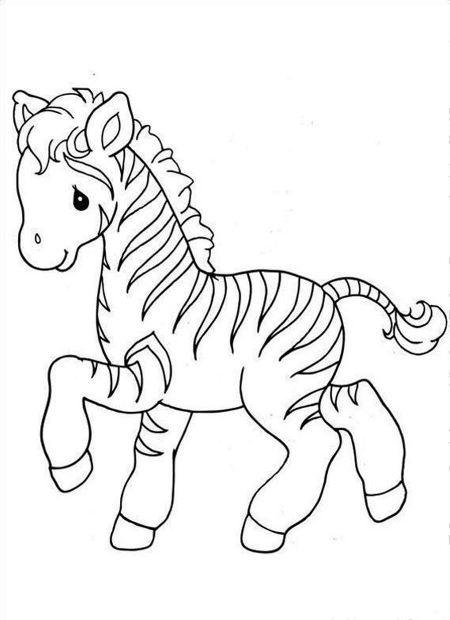 Zebra Coloring Sheet : zebra, coloring, sheet, Zebra, Coloring, Pages, GetDrawings, Download