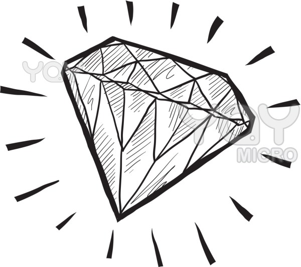 diamond coloring pages # 16