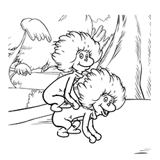 thing 1 and thing 2 coloring pages # 24