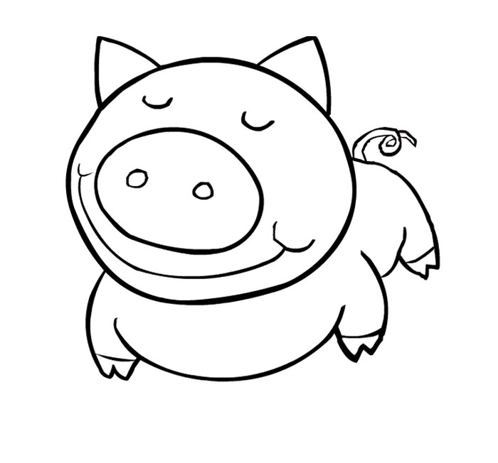 Easy Animal Coloring Pages For Kids at GetDrawings.com