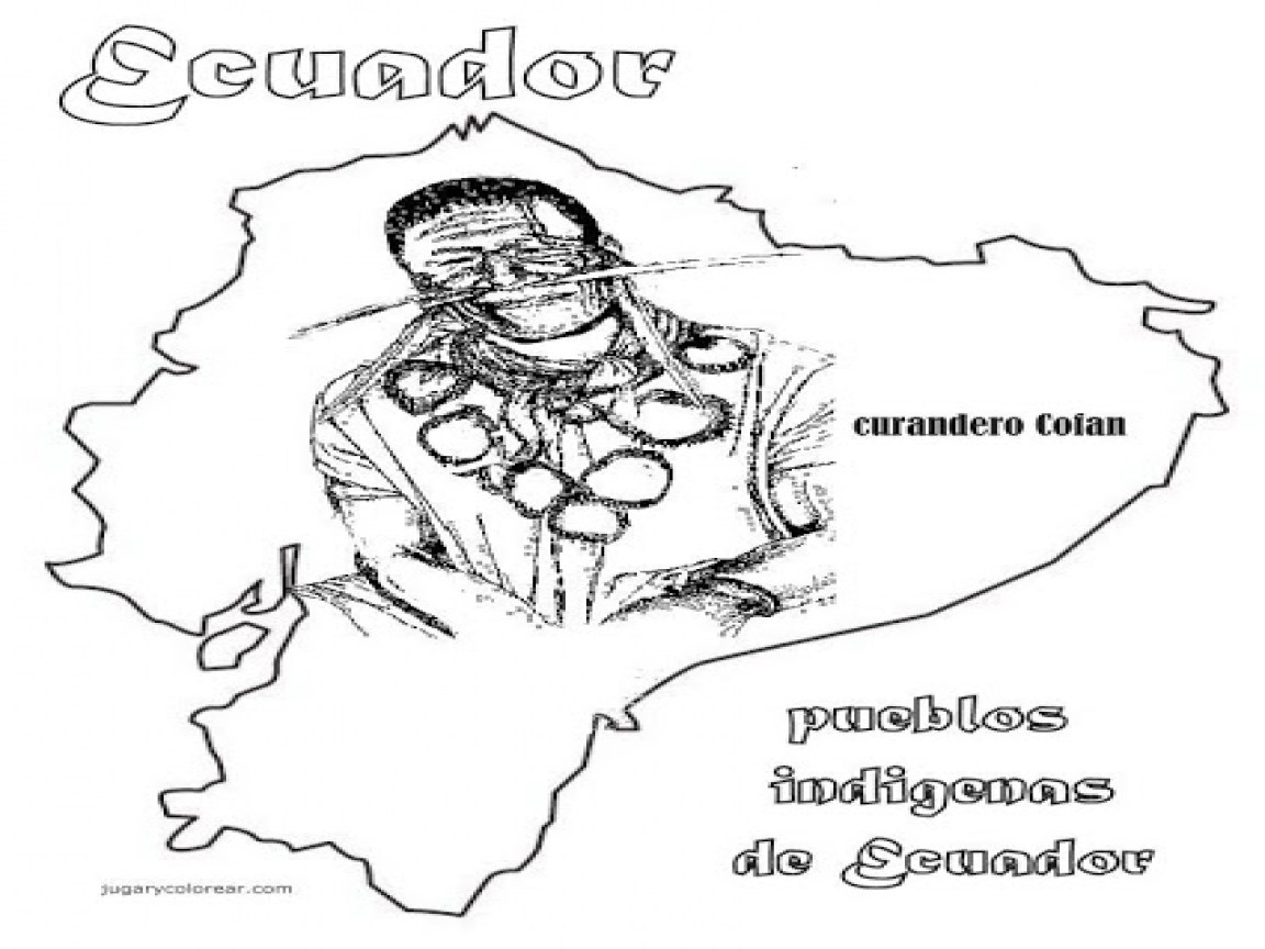 Ecuador Coloring Pages At Getdrawings