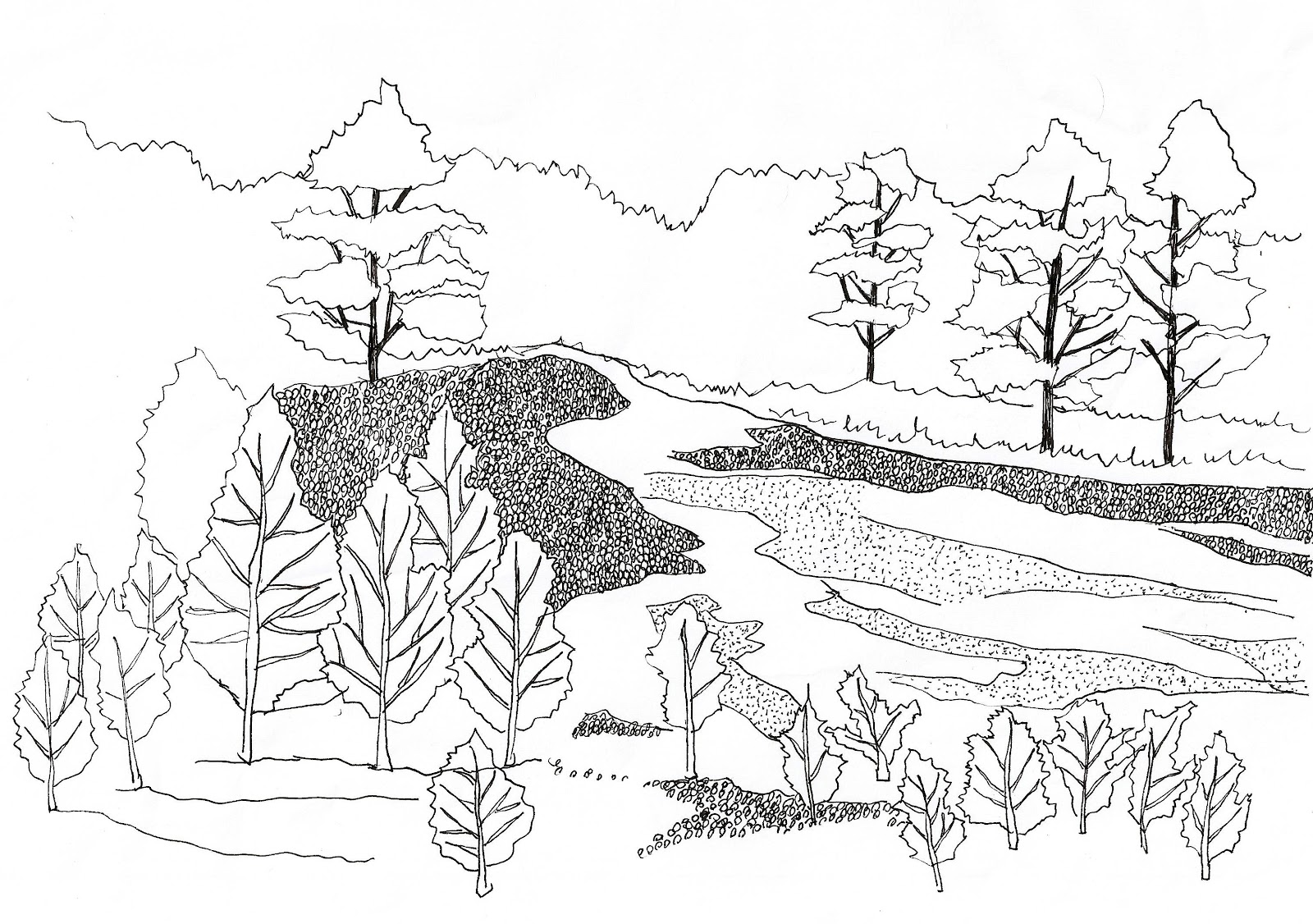 19 Soil Erosion Coloring Pages