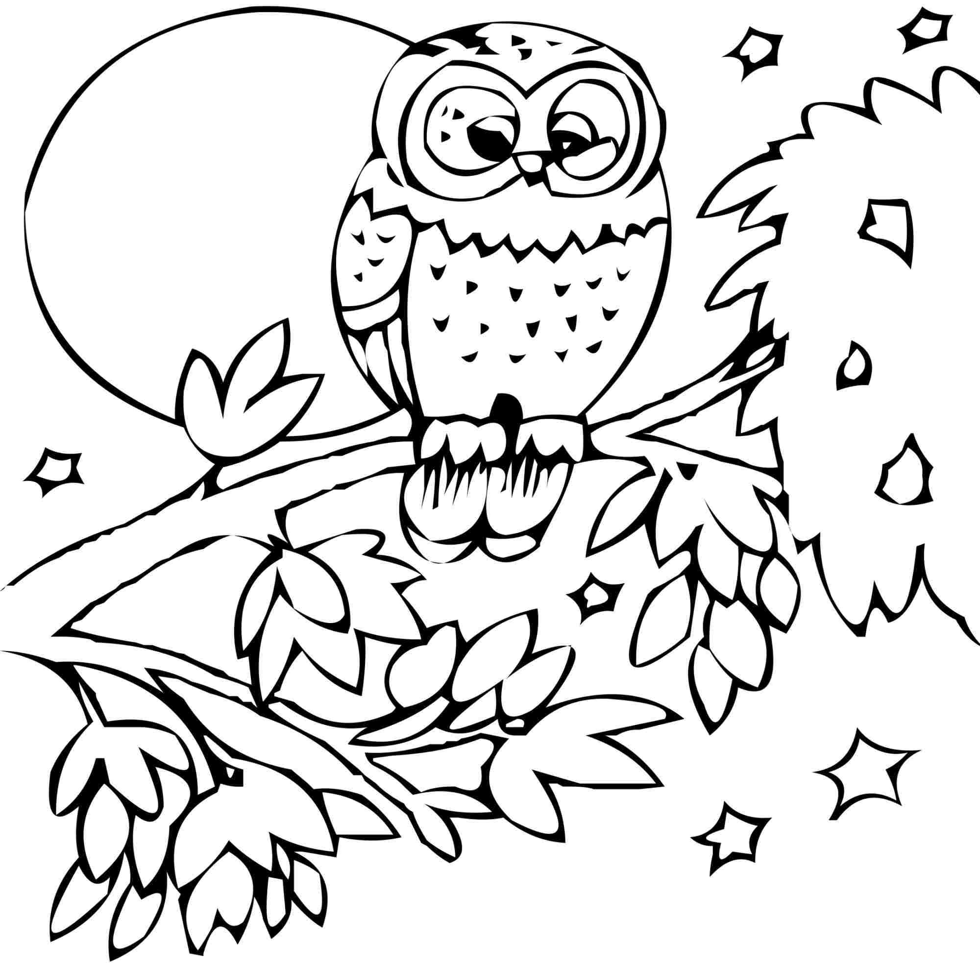 Fall Animals Coloring Pages At Getdrawings