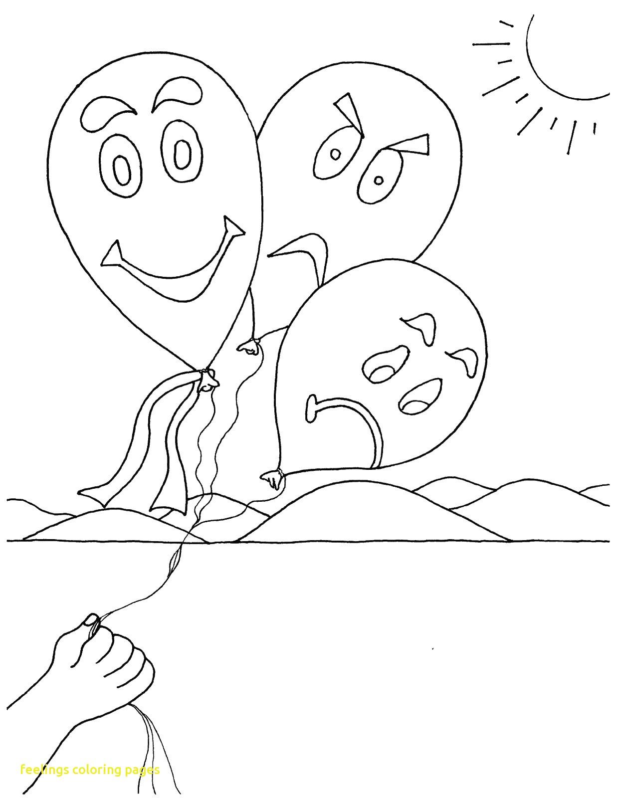 Feelings Coloring Pages At Getdrawings