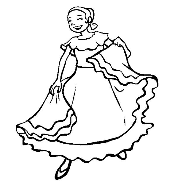 fiesta coloring pages # 63