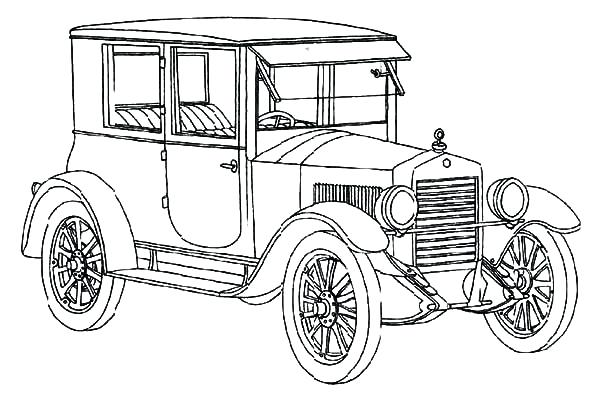 ford coloring pages # 43