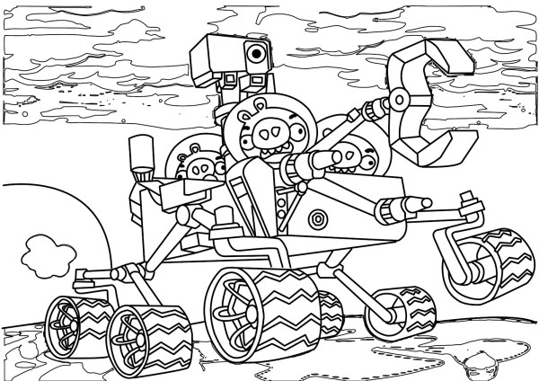 coloring pages angry birds # 57