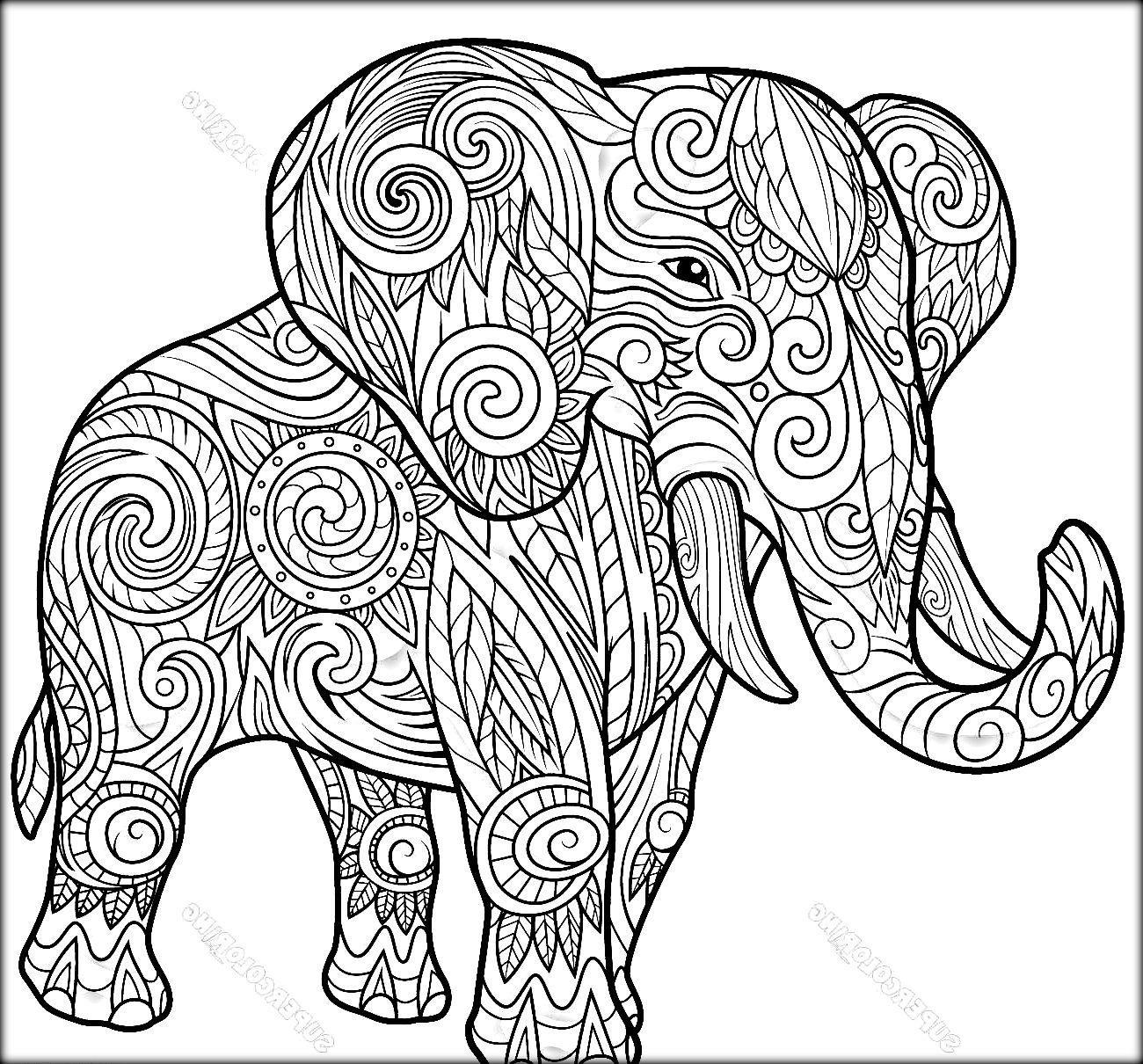 Free Mandala Coloring Pages Animals At Getdrawings