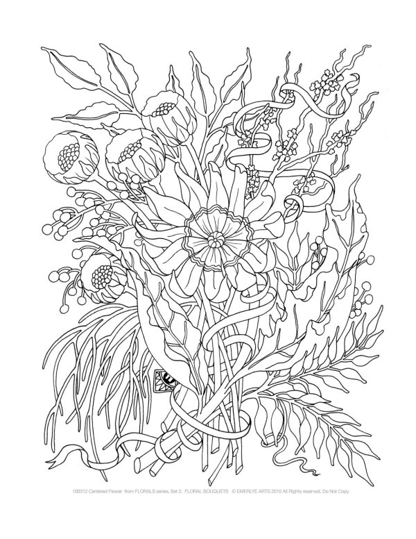 advanced coloring pages for adults # 27