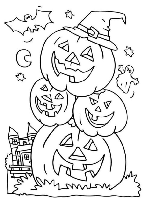 free coloring pages halloween # 26