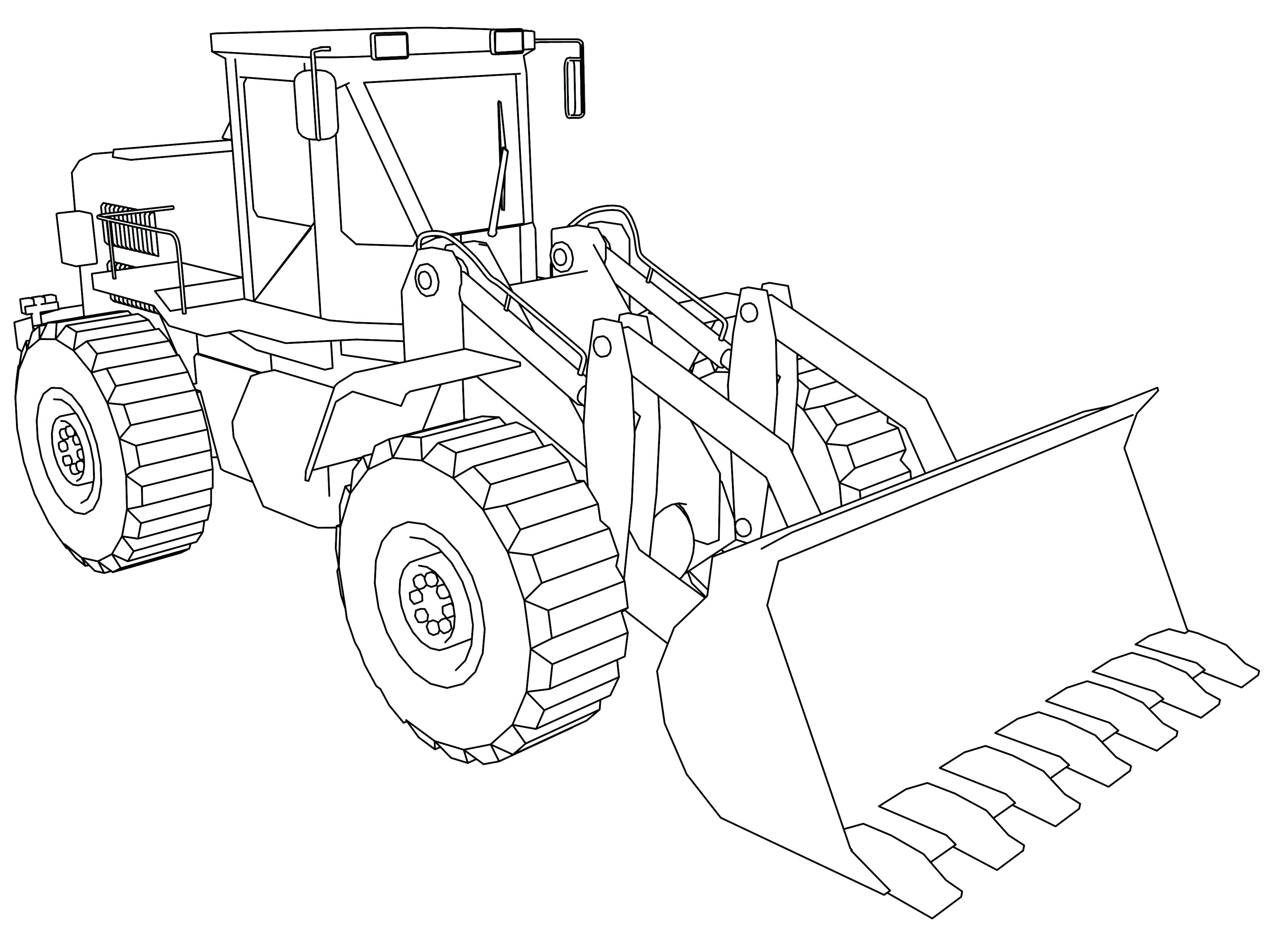 The best free Loader coloring page images. Download from