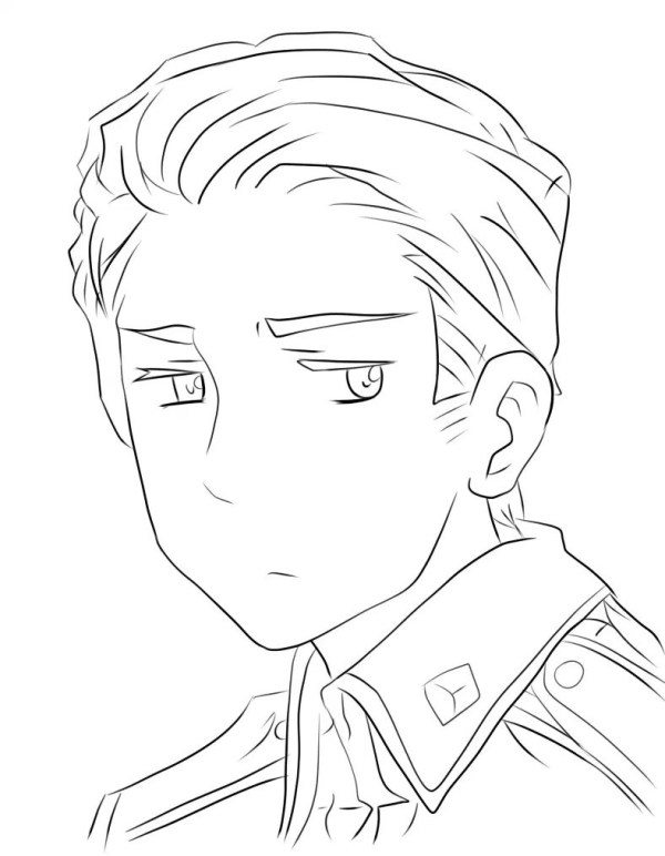 hetalia coloring pages # 14
