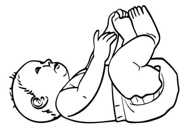 coloring pages of babies # 54