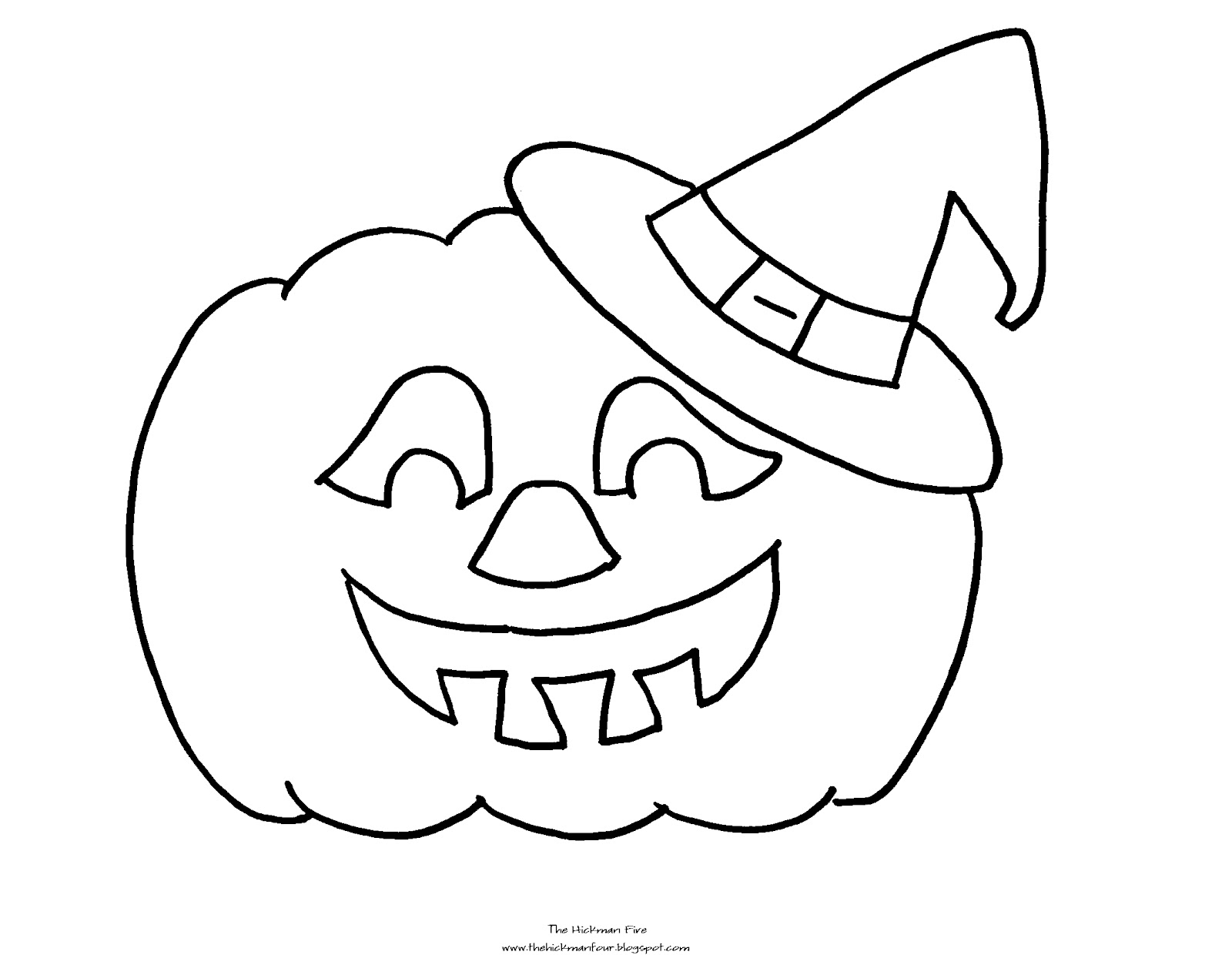 Halloween Jack O Lantern Coloring Pages At Getdrawings