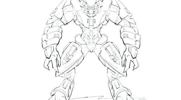 coloring pages halo # 53