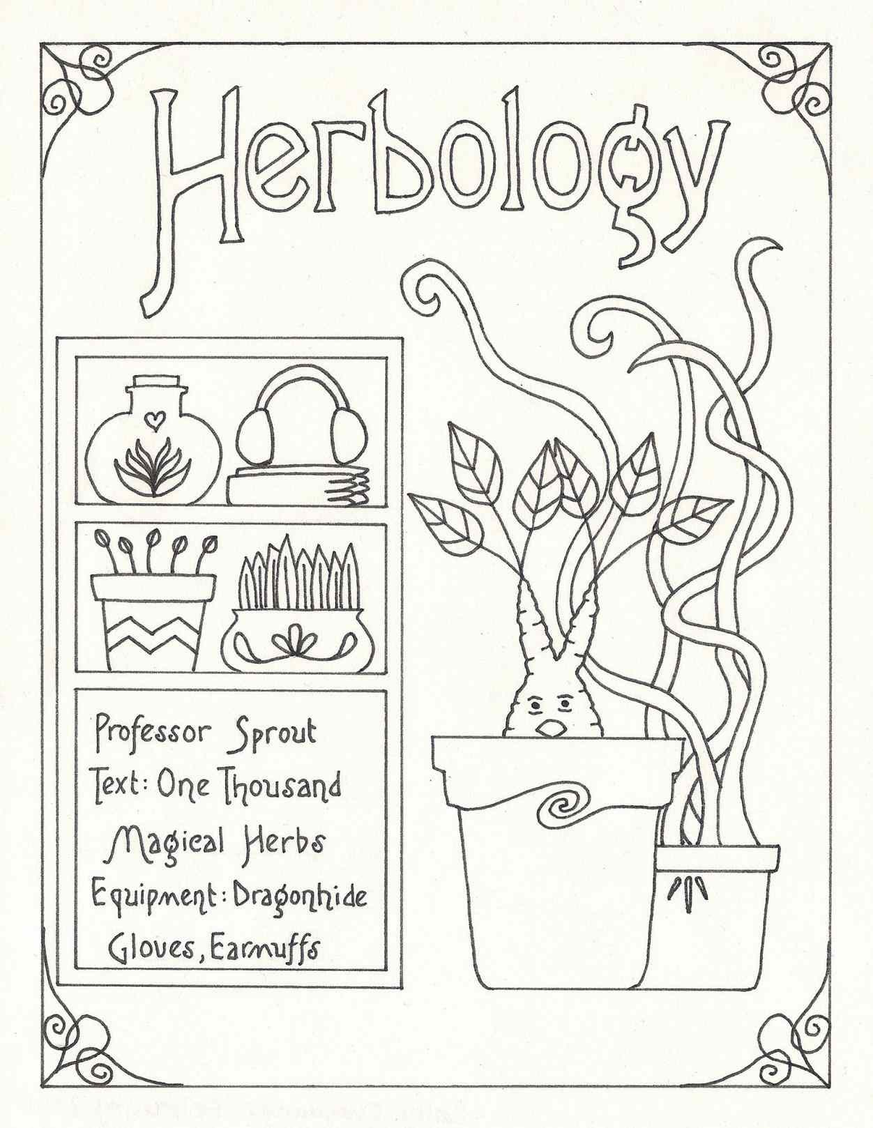Harry Potter Coloring Pages For Kids At Getdrawings