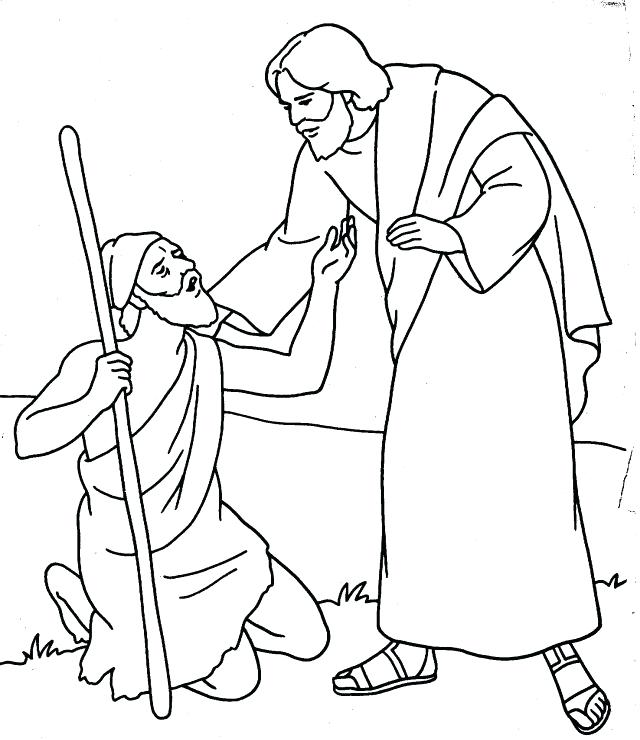 Faerlmarie Coloring Pages: 34 Peter And John Heal A Lame