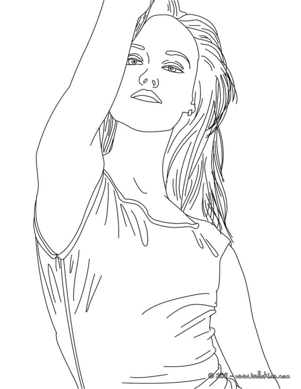 person coloring page # 74