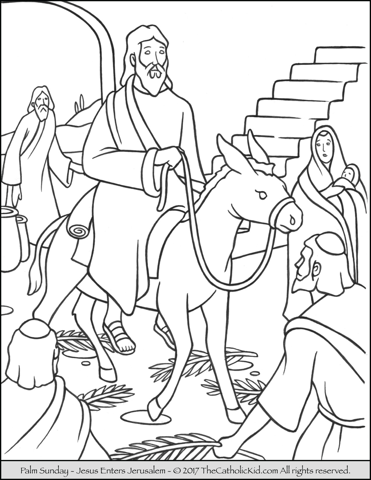 The Best Free Jerusalem Coloring Page Images Download