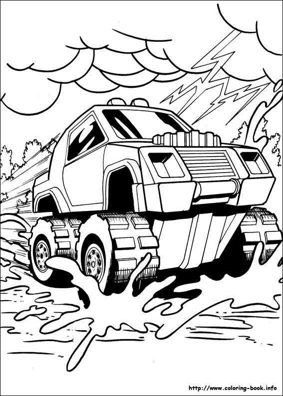 hot wheel coloring pages # 64