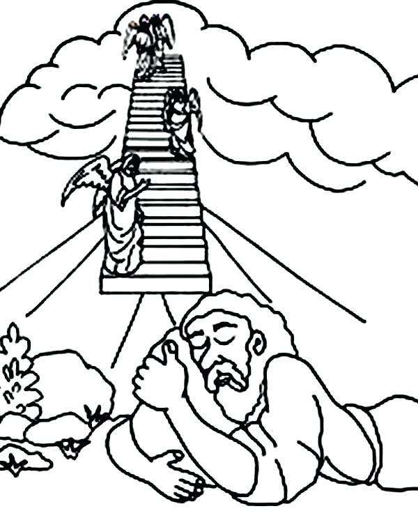 Jacob En Esau Kleurplaat • Kidkleurplaat.nl