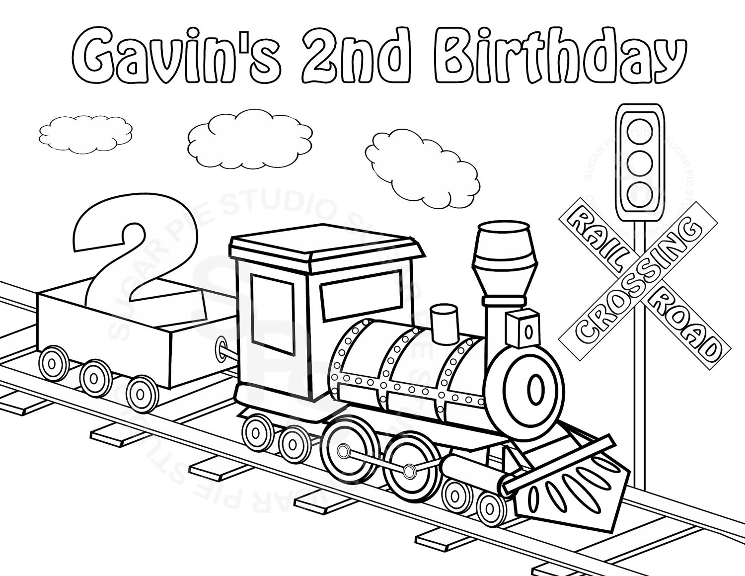 James The Red Engine Coloring Pages at GetDrawings.com