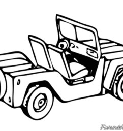 jeep coloring pages [ 1024 x 768 Pixel ]