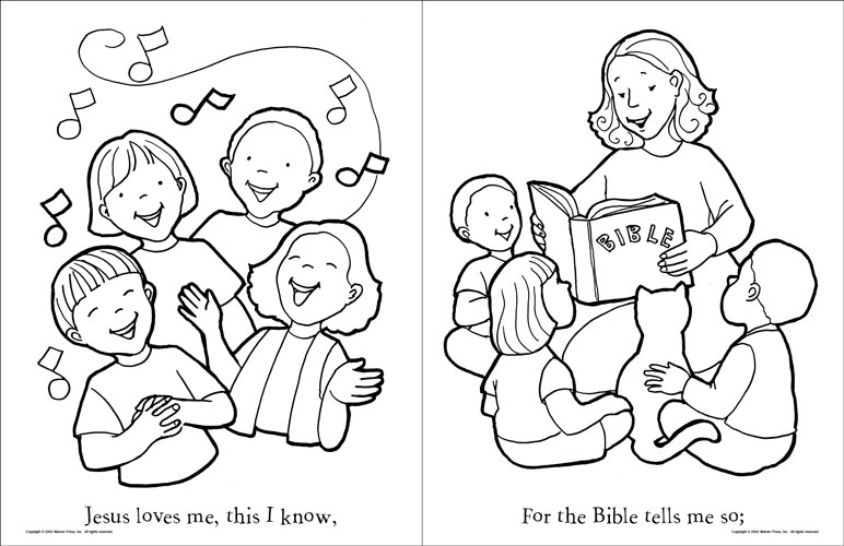 Jesus Coloring Pages For Kids Printable at GetDrawings.com