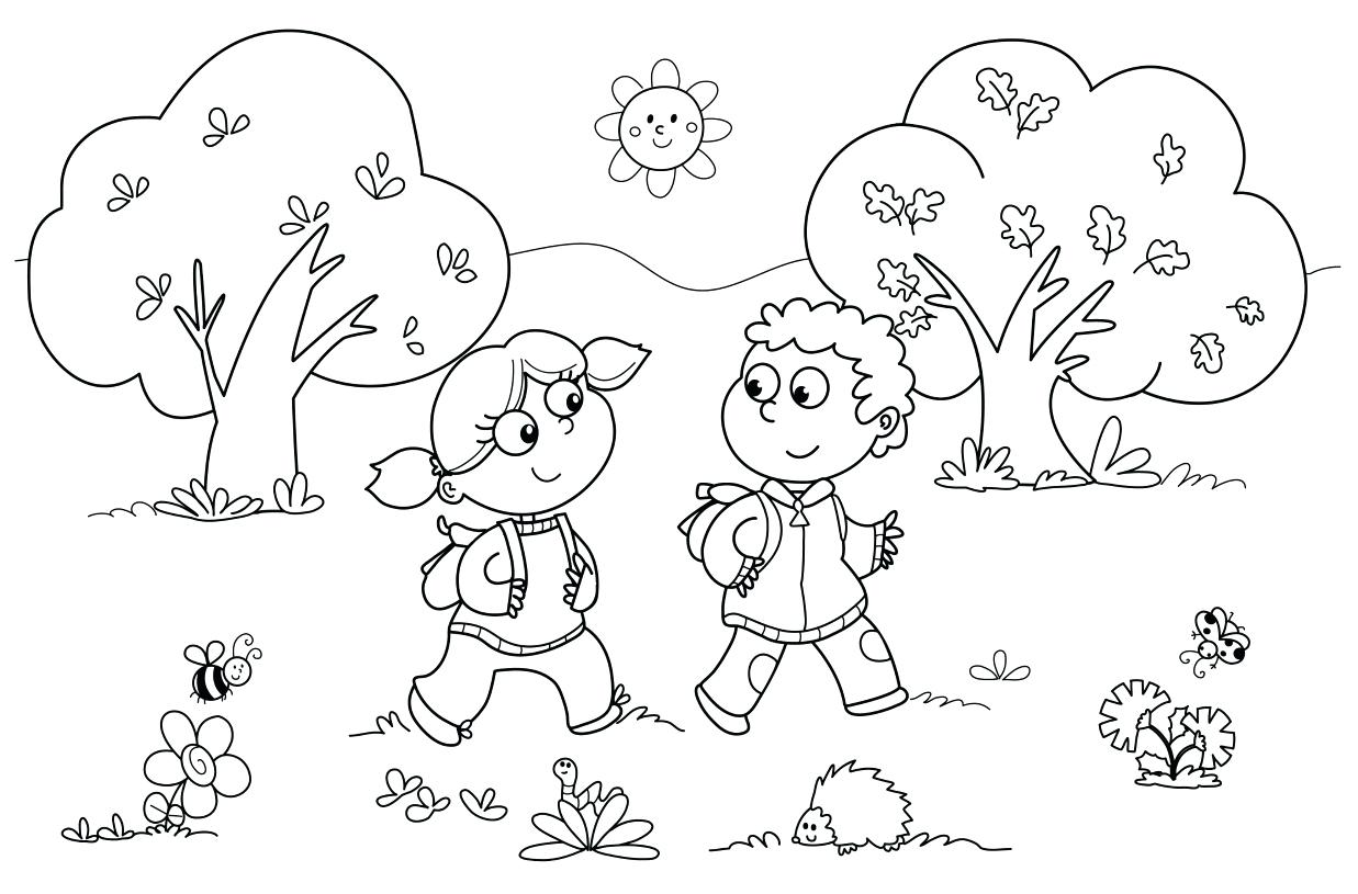Learning Coloring Pages For Kids At Getdrawings