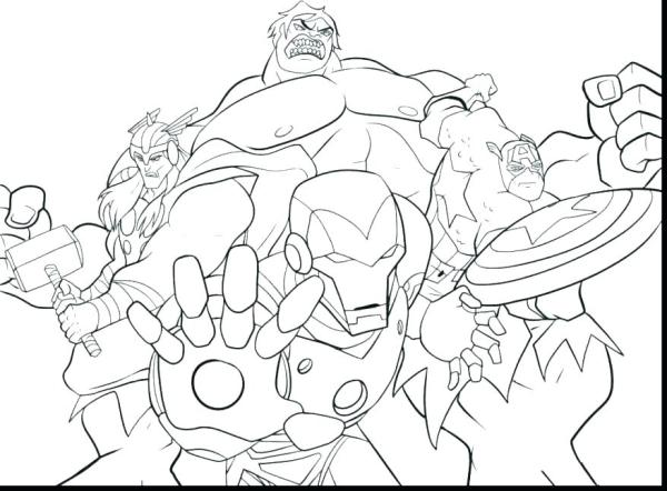 lego avengers coloring pages # 54
