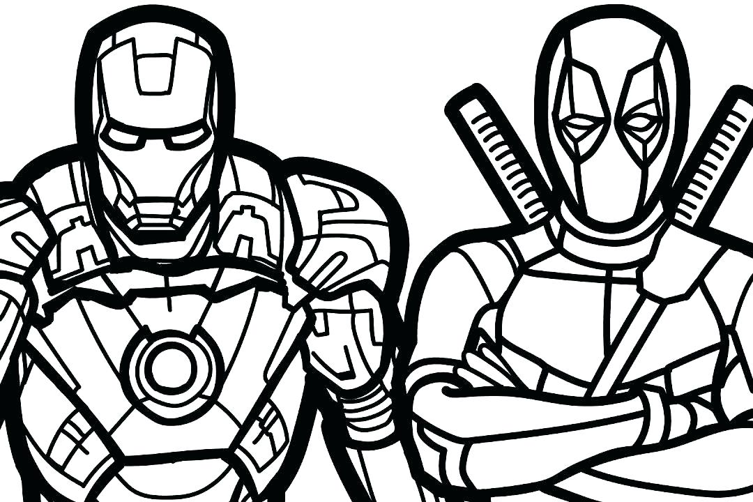The best free Marvel coloring page images. Download from