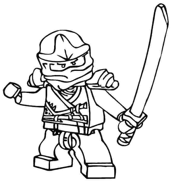 Lego Ninjago Coloring Pages Kai Zx_ at GetDrawings Free